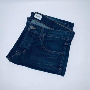 Hudson Byron Straight Men's 33 Waist Blue Jeans